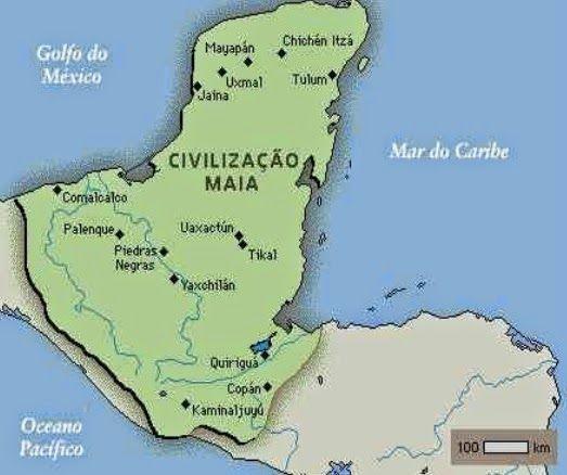 Maias Origem Cultura Sociedade E Organizacao Resumo Completo Civilizacao Maia Golfo Do Mexico Civilizacao