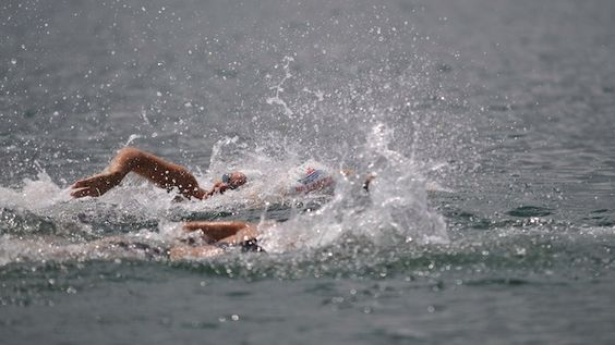 From the Pool to Open Water #triathlontraining