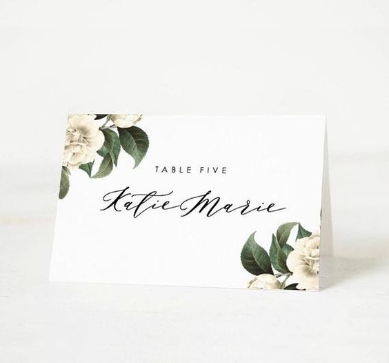 Place Card Template 6 Per Sheet Lovely Printable Place Card Template Wedding Place Card Name Tags Place Card Template Card Templates Printable Card Template