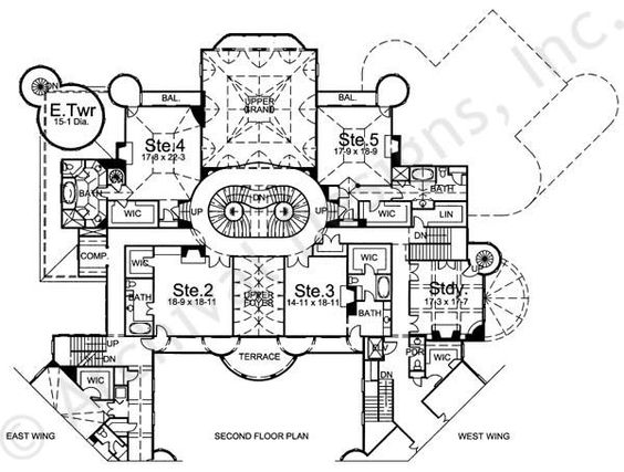 2nd Floor Home And House Plans On Pinterest