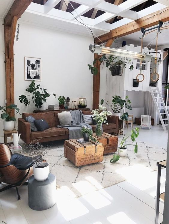 30 Trending Industrial Rustic Living Room Decor Ideas That You Must Copy Moroccan Decor Living Room Industrial Decor Living Room Rustic Industrial Living Room #rustic #industrial #living #room #decor