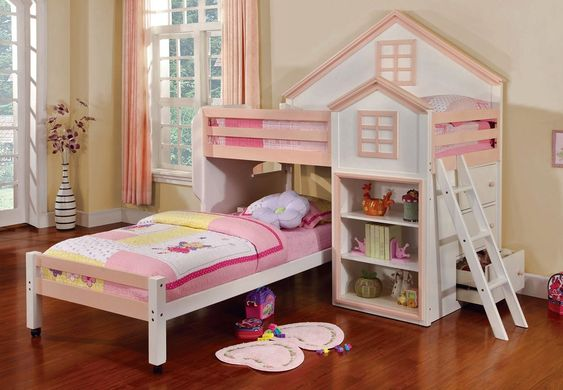 Castle Bunk Beds Twin Over Twin