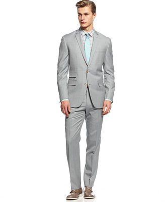MACYS says light blue but looks like gray with a blue tint.. nice