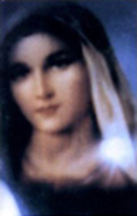 Actual Picture Of The Blessed Virgin Mary Mother Of God With