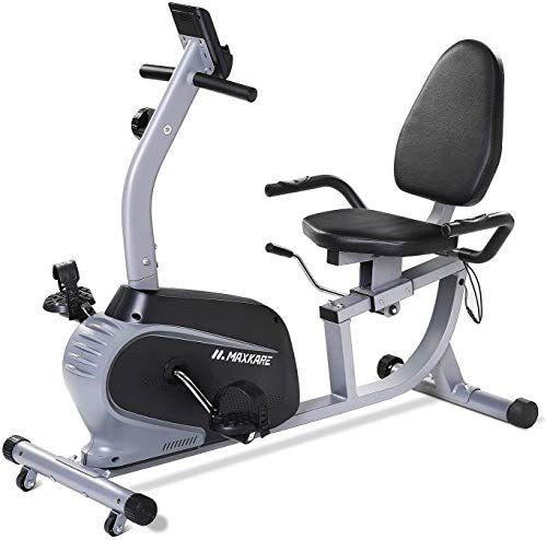 Chic Maxkare Recumbent Exercise Bike Indoor Cycling Stationary