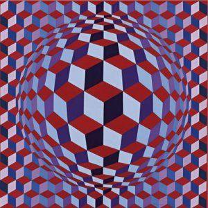 Victor Vasarely...  El rey del arte optico
