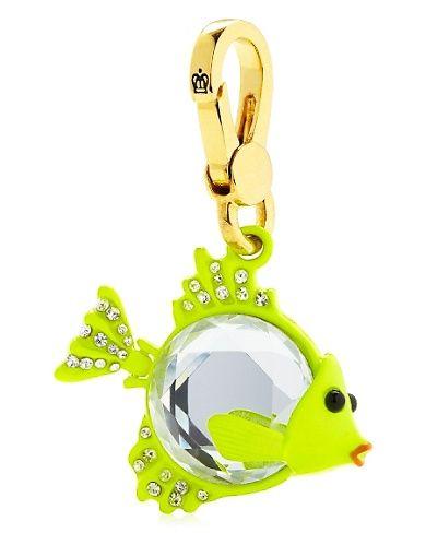 Gem Fish Charm. #GetYourNeon  http://www.juicycouture.com/Gem-Fish-Charm/YJRU5777,default,pd.html?dwvar_YJRU5777_color=710=33=new-arrivals=all