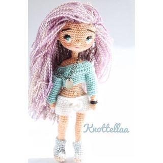 Amigurumi Human Doll Patterns : knottellaa profiles page - Quadrum Amigurumi .Crochet ...