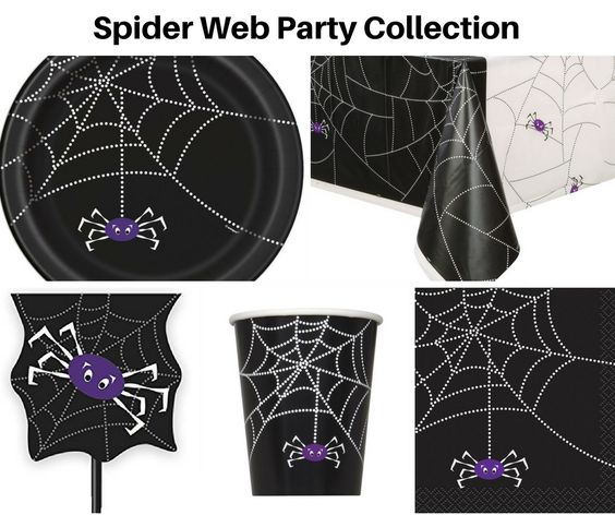 Spider Web Party