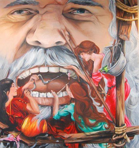 Rebecca van den Heuvel - Mr. Big Tooth