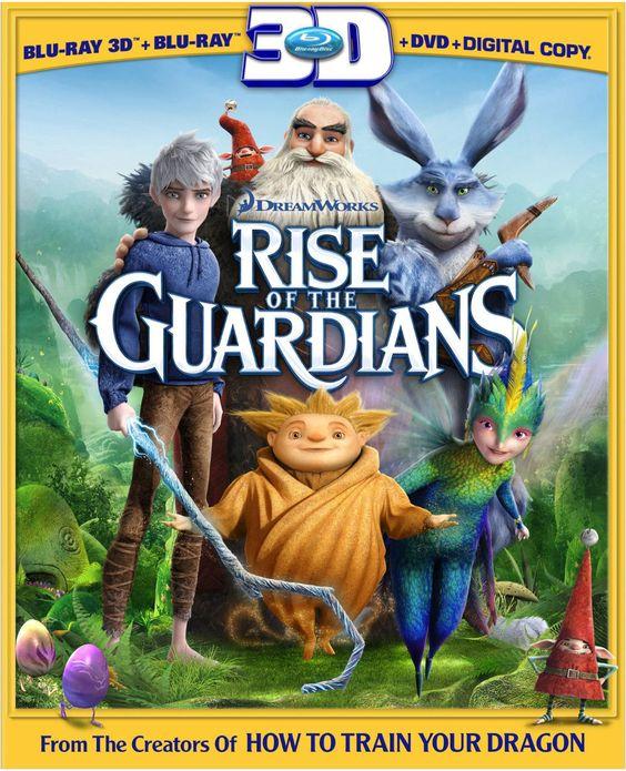 Dreamworks Rise of the Guardians 3D