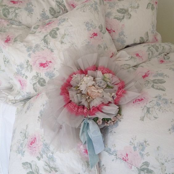 and now for a pretty picture..... Online only Royal Bouquet www.shabbychic.com. Rachel Ashwell IG