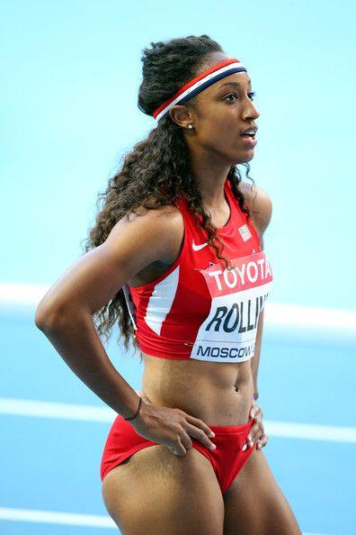 Brianna Rollins usa athlete