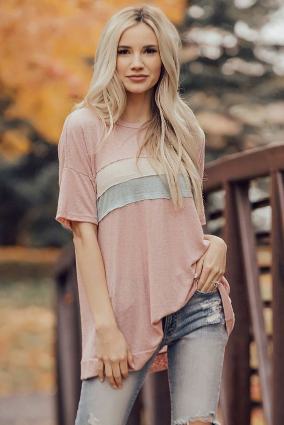 30 Tops Tees For Your Wardrobe This Spring outfit fashion casualoutfit fashiontrends