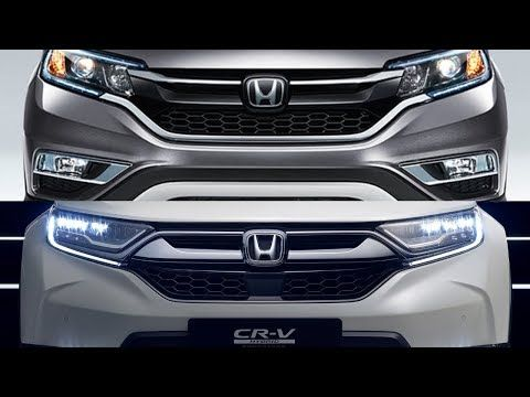 Honda Crv 2018 Vs Honda Crv 2019 Detailed Look Youtube Honda Crv Honda Crv Interior Honda