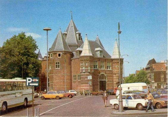 Nieuwmarkt Amsterdam in the seventies
