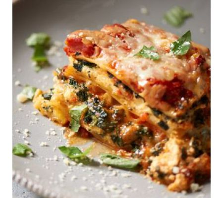 Pressure Cooker Spinach Lasagna from Blue Jean Chef - Meredith Laurence