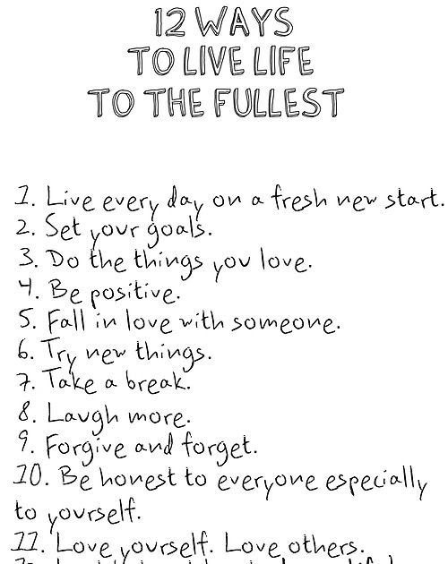 10 Inspirational Quotes About Living Life To Fullest Live Life To The Fullest Quotes Tumblr Goo Life Quotes To Live By Quotes To Live By Inspirational Quotes