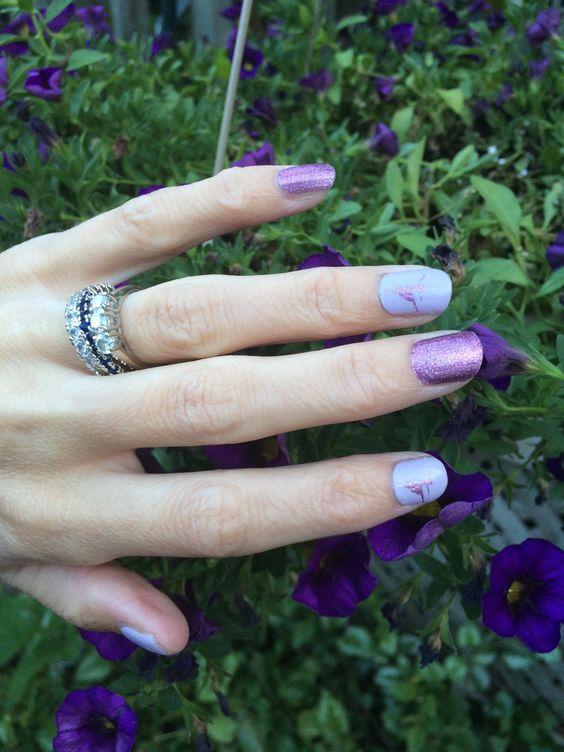 Jamberry Pixie with En Point. #pixiejn #enpointjn #jamberry #thinksocial #thinkpink #girlygirl #nailart #dancer #ballet #tutus #sparkle