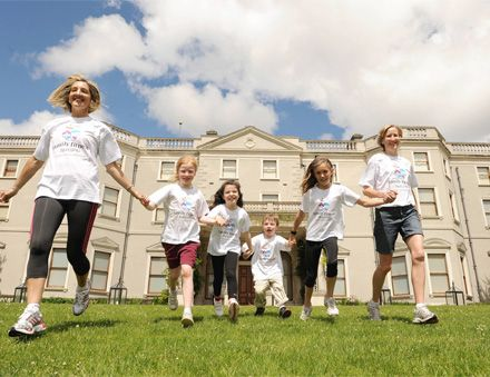 Family Fitness Festival  Farmleigh, Phoenix Park  Sunday July 1st 2012