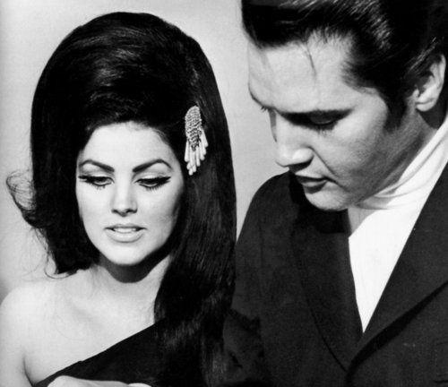 Elvis Presley + Lisa Marie