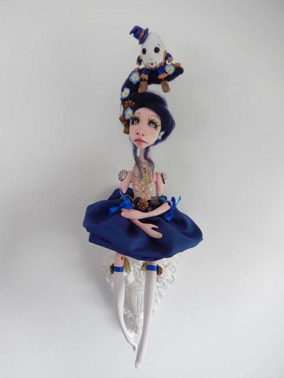 Iris and Humpty Dumpty  Alice in wonderland theme