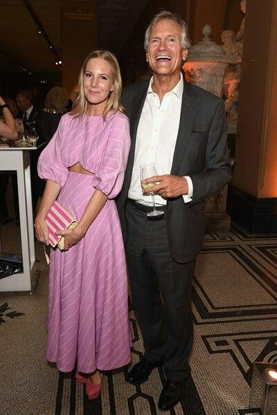 South Kensington 23rd June 2016 The V&A  Party Alice Naylor-Leyland and Charles Delevingne