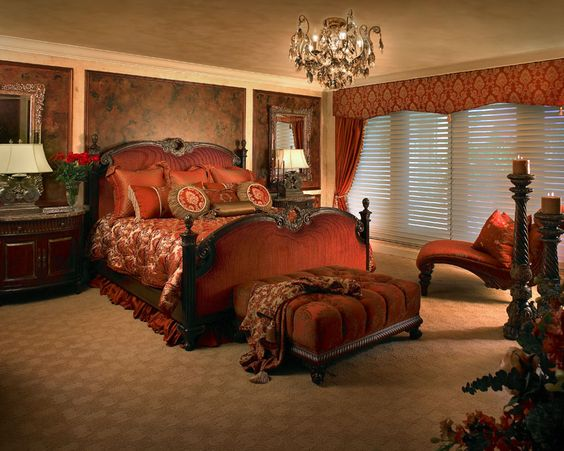 Pinterest o the worlds catalog of ideas for Rich bedroom designs