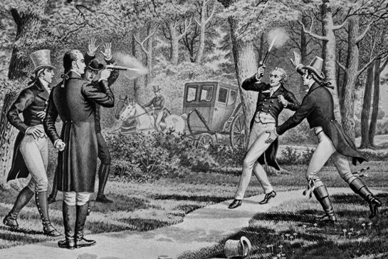 who killed alexander hamilton