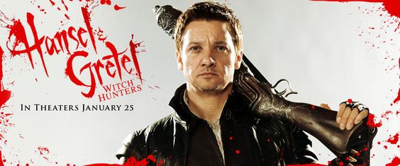 Jeremy Renner - Hansel and Gretel Movie Banner No.2