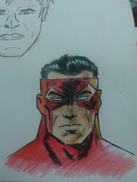 Hero draw work sketch aprendendo a desenhar herois.