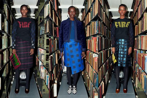 KENZO Pre-Fall 2014 Collection with African High Fashion Models - http://africanluxurymag.com/kenzo-pre-fall-2014-collection-african-high-fashion-models/