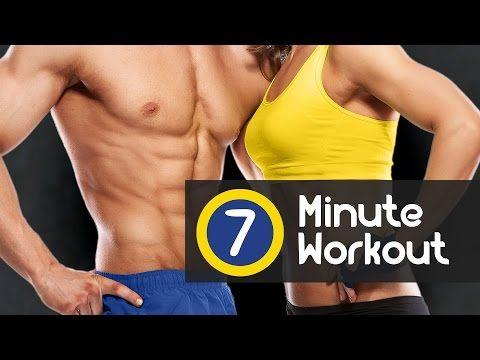 7 Minute Workout - Votre entrainement quotidien pour brûler la graisse rapidement - YouTube