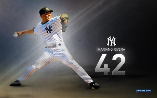Mariano Rivera, I am so sad for him, and so glad I got to see him play so many times.  He is probably  the best we will ever see.