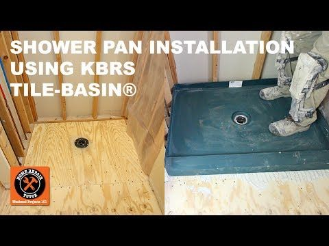 How To Install A Custom Shower Pan In Less Than 2 Hours With