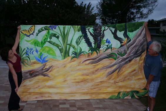 Backdrop Hakuna Matata for The Lion King