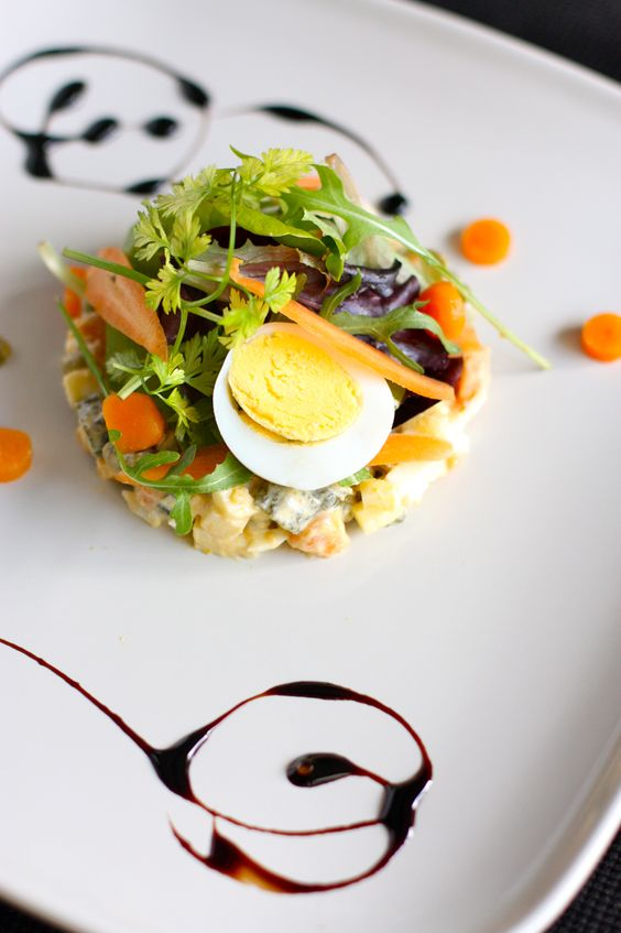Petite Salade Compos E Small Mixed Salad KP Pinterest Fine Dining An