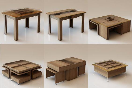 3D Model 6 Table c4d, obj, 3ds, fbx