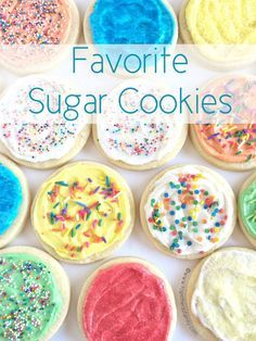Favorite Sugar Cookies - Together as Family