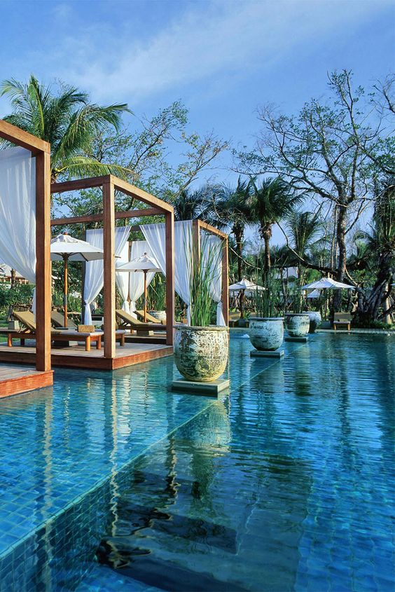 Sitting pretty on a sublime stretch of coastline and bordering no less than five national parks, The Sarojin is a great hang out for grown-ups who just want peace, delicious food and Thai smiles on kilometres of deserted beach. #Thailand
