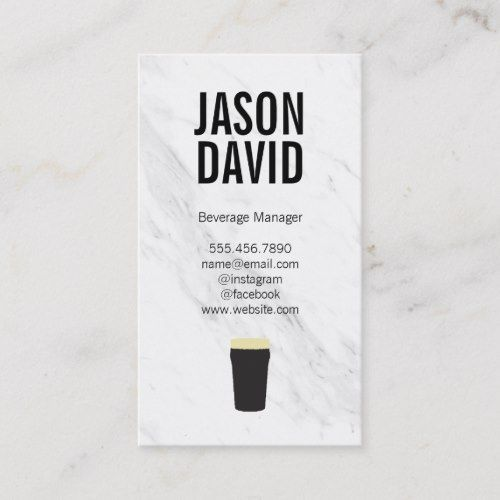 Pin On Beer Business Card Templates