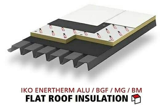 Iko enertherm for flat roof insulation can give benefit for your building or house.  BENEFITS:  *Lightweight boards and therefore easier to handle. *Less volume for the same insulation value. *Fit for walking on during the work and after. *Can be installed quickly and easily. *High dimensional stability and compressive strength.  Just contact 03-40319455  or whatsapp at 019-656 0961 www.1atap.com.my/enertherm