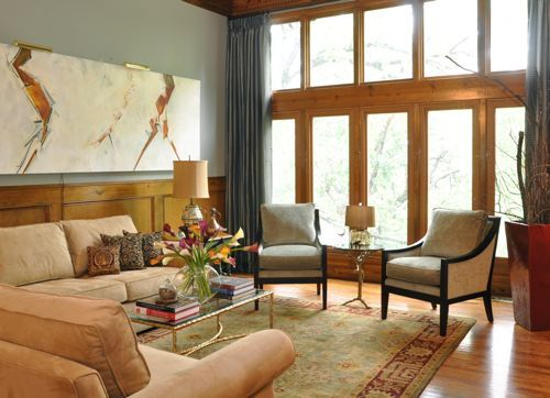 paint color w/ oak trim oak is challenging to find complementary