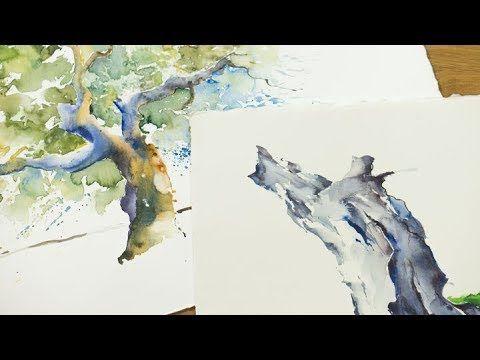 Dein Tutorial Baume Im Aquarell Video Zum Buch Das Gelungene
