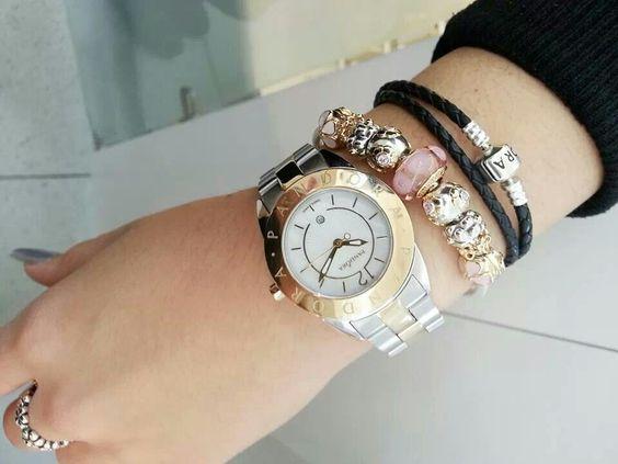 pandora watch charm bracelet complete pandora bracelets