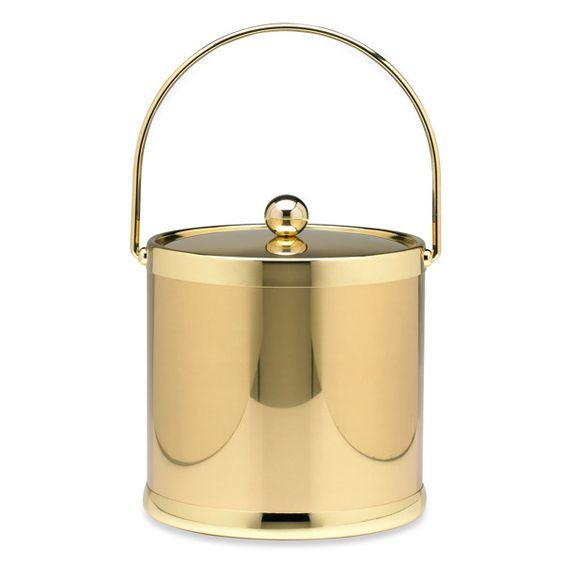 Americano Ice Bucket: Bucket 59, 59 99, 3/4 Beds, 99 Bed, Ice Buckets, Americano Ice, Brass 59