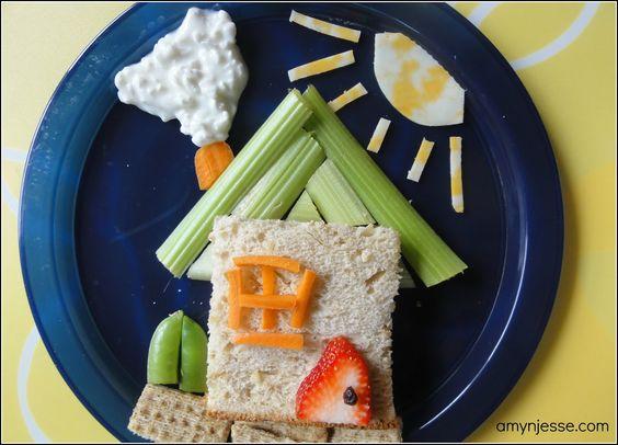 Creative kid snacks