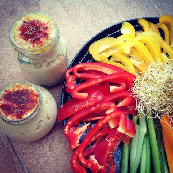 humus calabacin