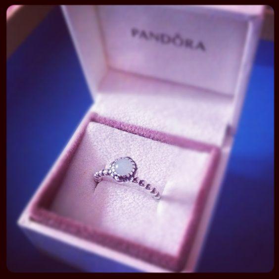 Pandora Aquamarine Earrings