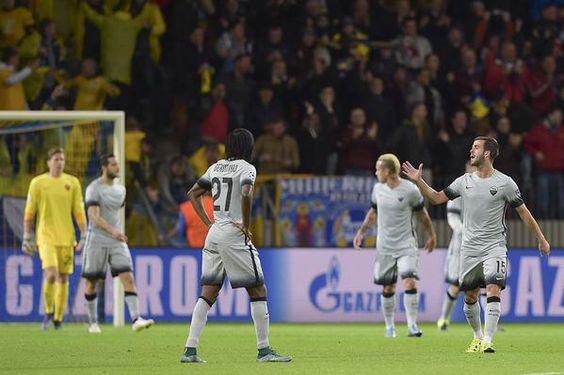 EN VIVO | BATE Borisov.  3 - 0 La Roma   - Alineacion   ¡GOL DE BATE Borisov! Roma cae 1-0 con gol de Stacevich.   ¡GOL DEL BATE! Mladenovic marca el 2-0 ante Roma al minuto 12.   MI...